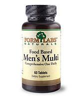 Чоловічі полівітаміни на основі їжі FormLabs Naturals (60 таблеток)