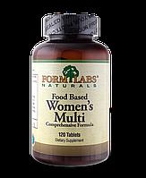 Жіночі полівітаміни на основі їжі FormLabs Naturals (120 таблеток)