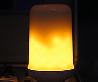Светодиодная лампа имитация огня 5Вт Е27 3 режима