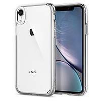 Чехол Spigen для iPhone XR Ultra Hybrid, Crystal Clear (064CS24873), фото 1