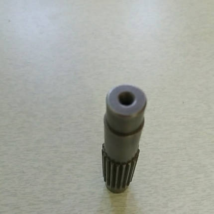 Вал вторичный L-100 мм Z-19 ременного редуктора, фото 2