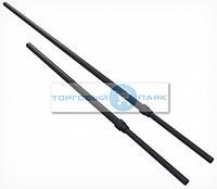 Трубка для стойки алюминиевая телескопическая черная 350-550 мм, фото 1
