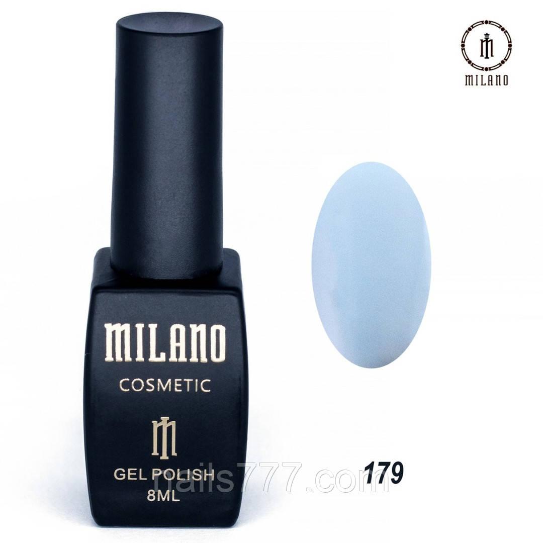 Гель-лак Milano 8 мл, № 179