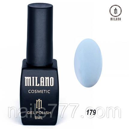 Гель-лак Milano 8 мл, № 179, фото 2