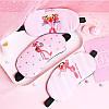 Маска для сна с гелем Розовая Пантера, фото 2