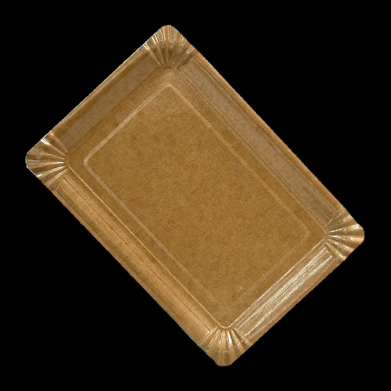 Тарелка картон КРАФТ ХТ15*22 (10/1000ящ)