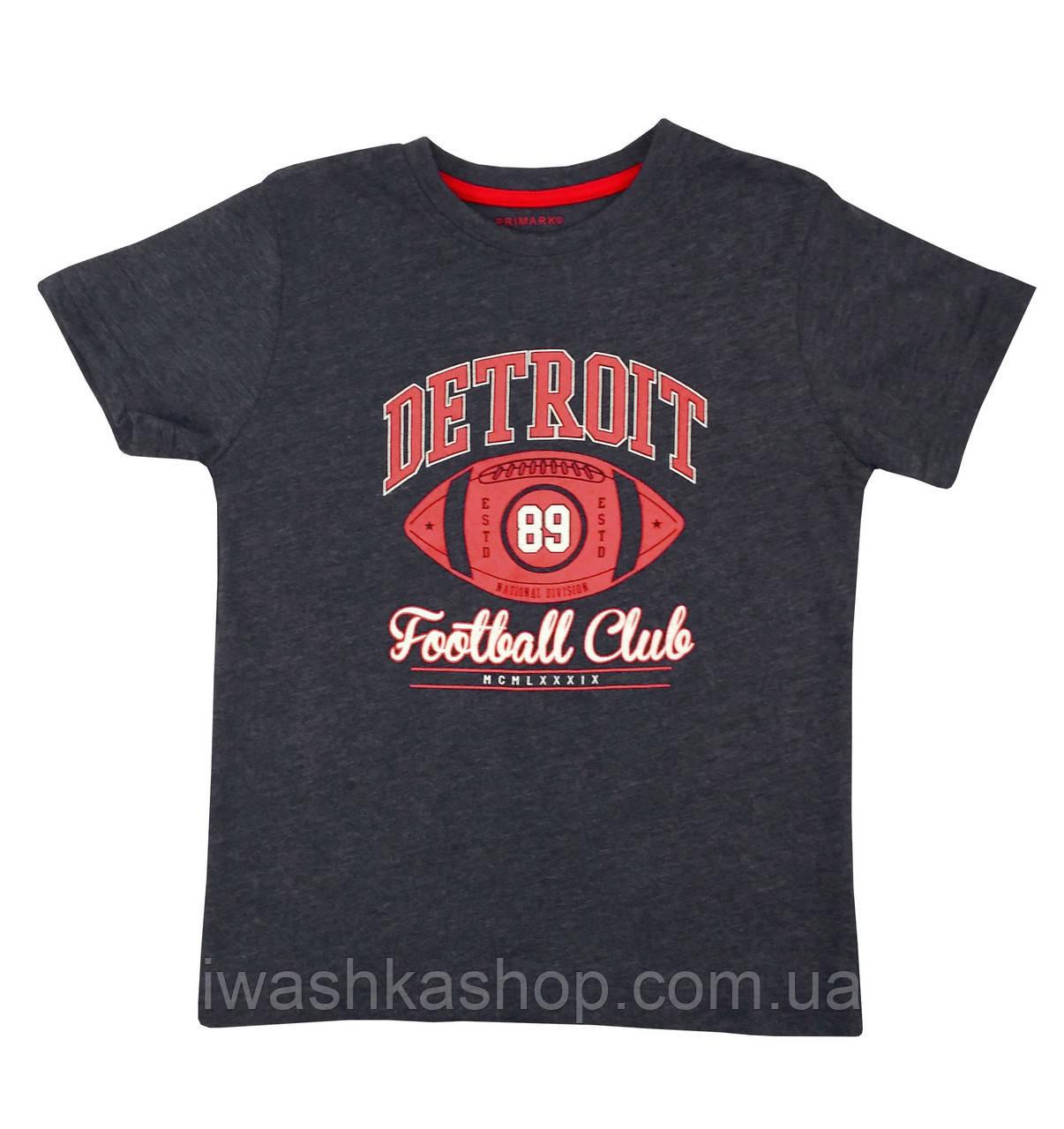 Футболка с футбольным принтом для мальчика 5 - 6 лет, Primark р. 116