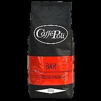 Кофе в зернах Caffe Poli Rossa Bar 1 кг 50/50