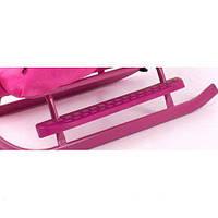 Подножка к санкам Adbor Piccolino розовая