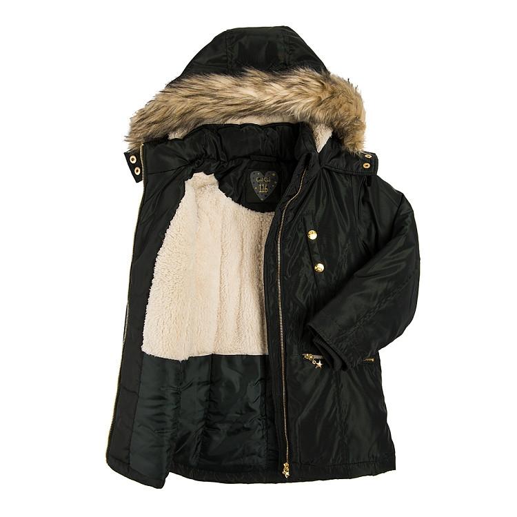 Подростковая зимняя куртка для девочки Cool Club Польша Размер 158