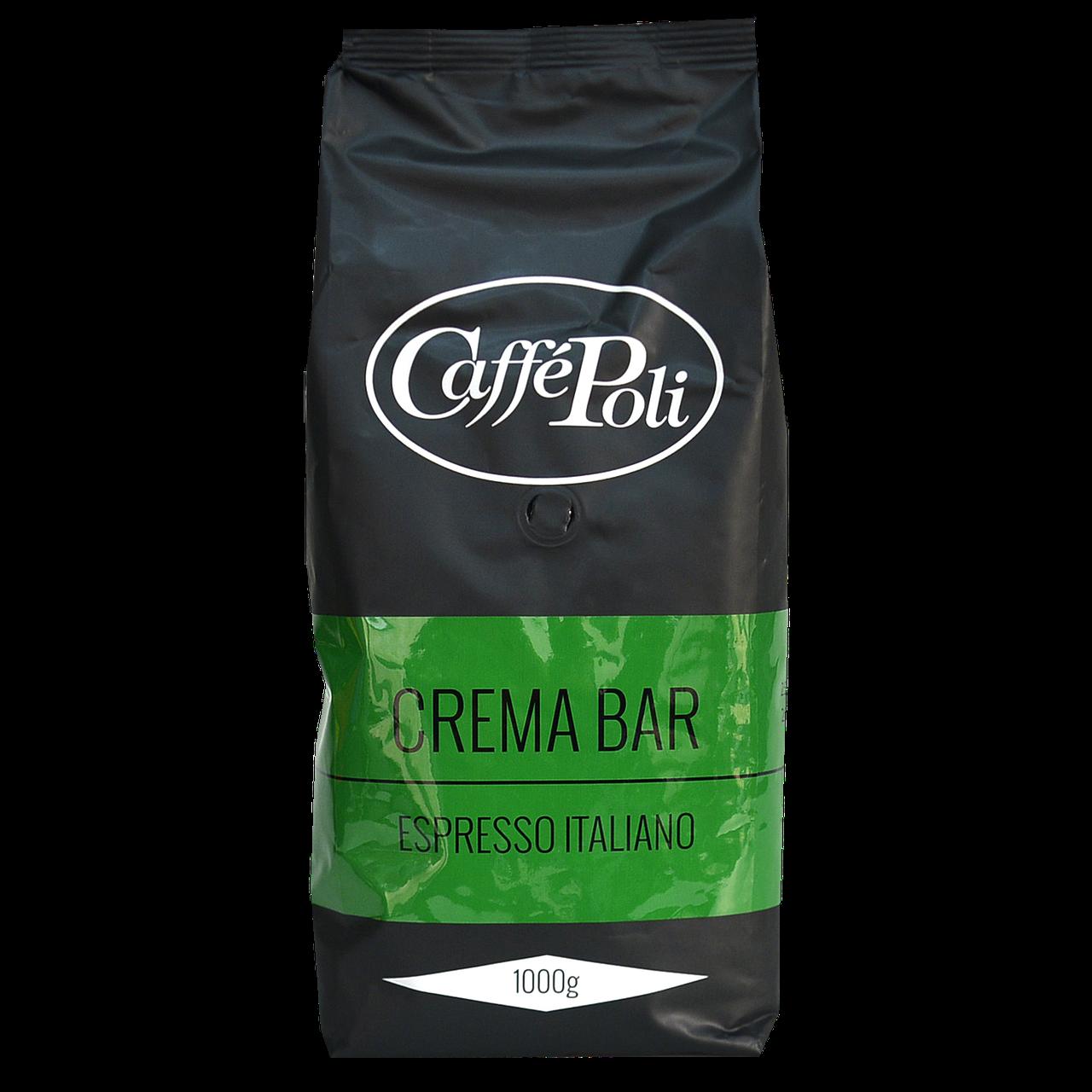 Кофе в зернах Caffe Poli Crema Bar 1кг 35/65