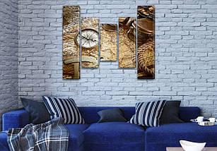 Картины модульные на ПВХ ткани, 90x110 см, (90x20-2/60х20-2/45x20), фото 3