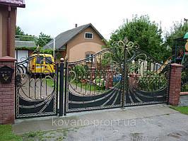 """Кованые ворота от компании """" ПП Брама"""" 25"""
