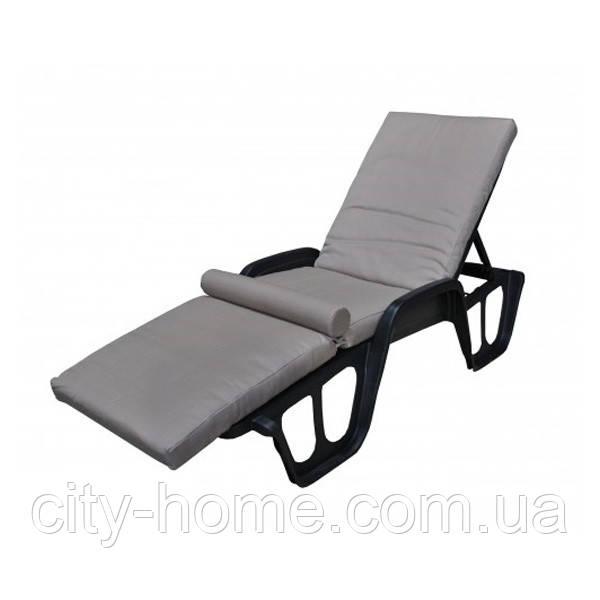 Матрас для лежака с валиком Confort дралон, 8 см