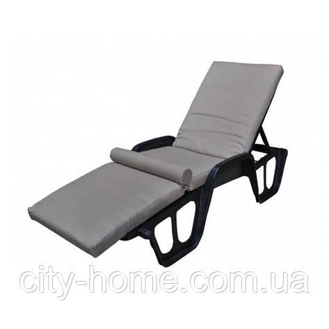 Матрас для лежака с валиком Confort дралон, 8 см, фото 2