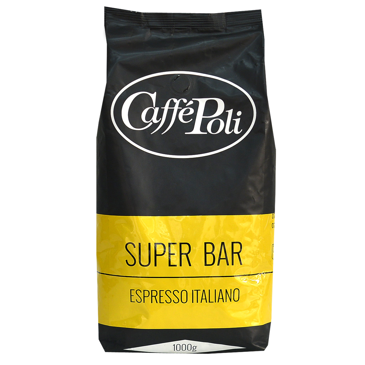 Кофе в зернах Caffe Poli Super bar 1кг 90/10