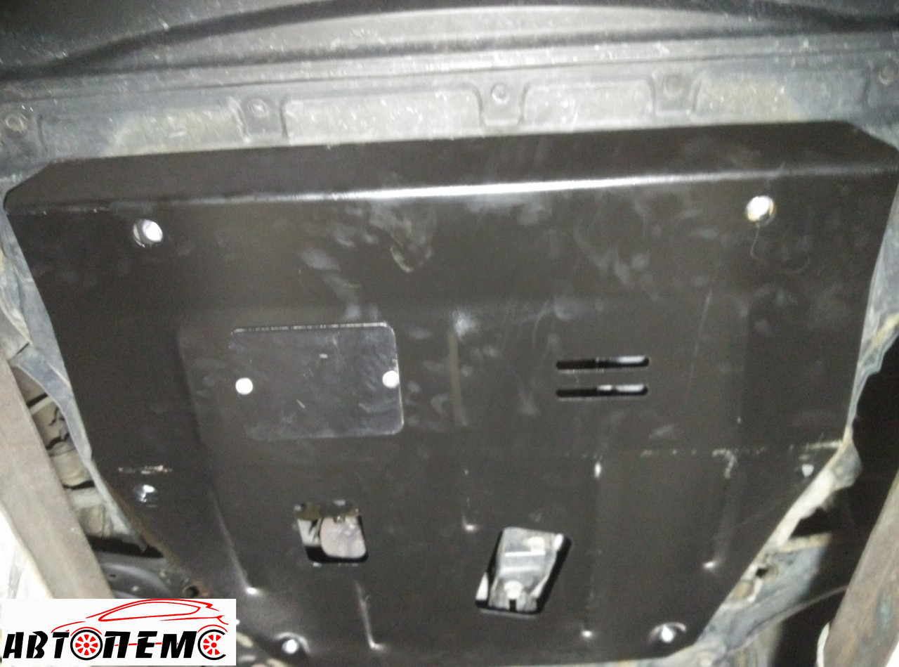 Защита картера двигателя и КПП Nissan X-Trail T31 (2007-2014) ТМ Титан