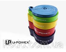 Петли для подтягиваний, Набор из 4-х (от 2 до 54 кг) резиновые петли для спорта U-Powex латекс 100%, фото 3