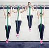 Петли для подтягиваний, Набор из 4-х (от 2 до 54 кг) резиновые петли для спорта U-Powex латекс 100%, фото 4