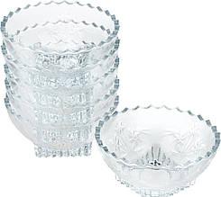 "Набір салатниць 6шт Isfahan Glass ""Simin"" скло 607"