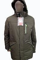 Куртка горнолыжная мужская WHS оливкового цвета