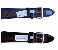 Ремешок для часов из кожи Mustang Standart 24 мм, стальная бакля, фото 1