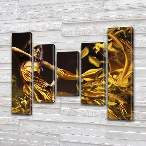 Модульные картины купить украина на ПВХ ткани, 90x110 см, (90x20-2/60х20-2/45x20)