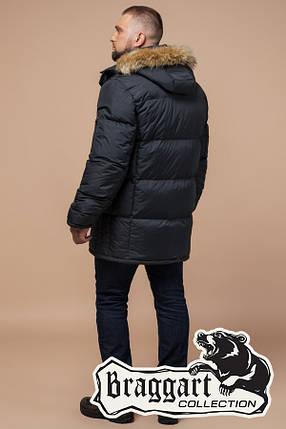 Зимняя мужская куртка большого размера Braggart (р. 56-62) арт. 2084 графит, фото 2