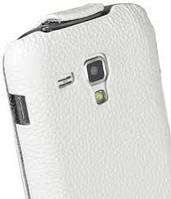 Чехол Melkco Leather Case Jacka White for Samsung Galaxy S Duos S7562 (SS7562LCJT1WELC)