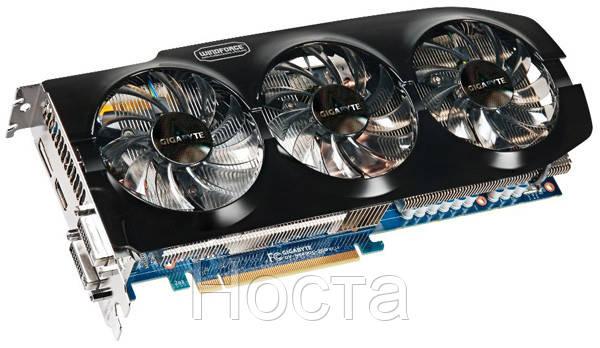 "Видеокарта Gigabyte PCI-Ex GeForce GTX 680 2048MB GDDR5 (256bit) (1071/6008) (GV-N680OC-2GD) без коробки - Интернет-магазин ""Носта"" в Киеве"