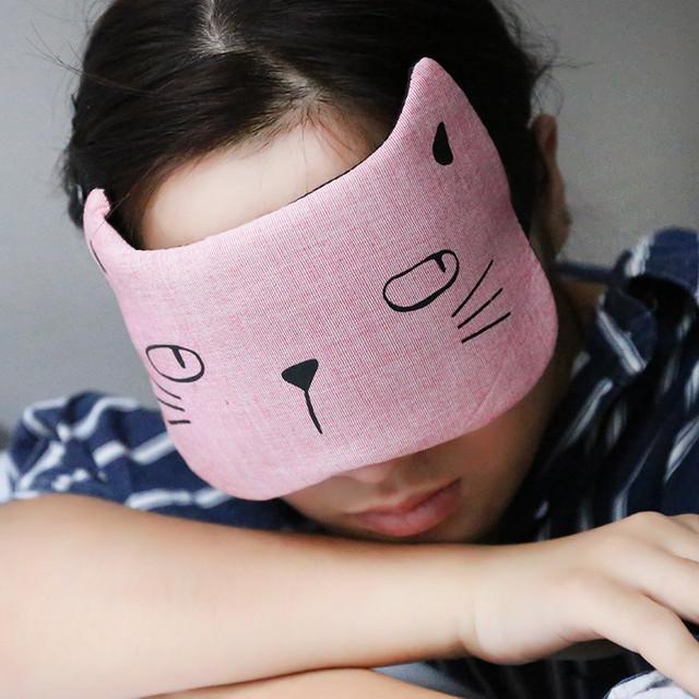 Маска для сну Котик