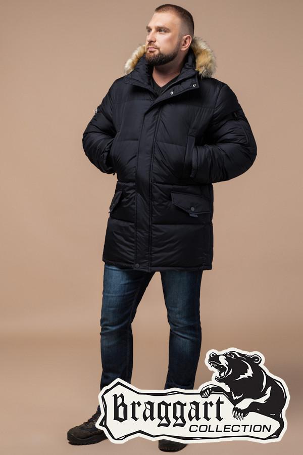 ed545b5dee3 Зимняя мужская куртка большого размера Braggart (р. 56-62) арт. 2084 ...