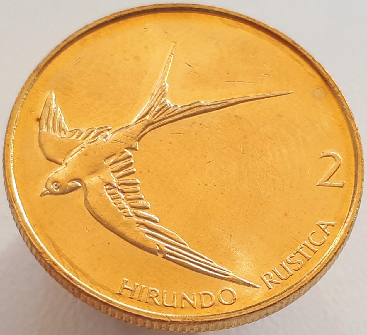 Словенія 2 толара 2004