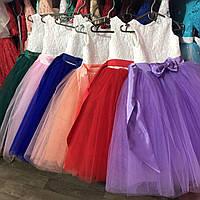 Платье нарядное на девочку  3-9 лет