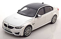 Оригінальна модель авто BMW M3 Competition (F80), Scale 1:18, Mineral White Metallic, (80432411552)