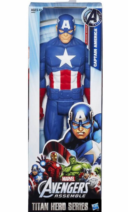 Фигурка Капитан Америка Hasbro Мстители Marvel Avengers Titan Hero Series Captain America 30 см