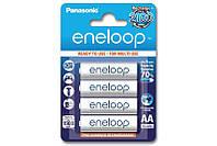 Аккумулятор АА аккумуляторные батарейки Panasonic Eneloop AA 1900 mAh 4 шт