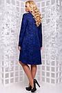 Женское платье, размеры от 50 до 54, трикотажное, свободное, асимметричное, повседневное, нарядное, фото 4