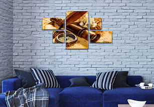 Картины модульные на Холсте, 80x140 см, (25x45-2/25х25-2/80x45), фото 3