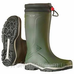 Зимові непромокающие гумові чоботи Dunlop Blizzard для полювання та риболовлі