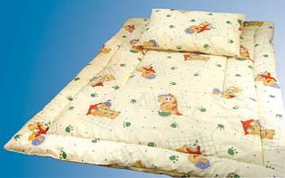 Ковдра і подушка дитячі