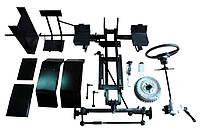 Комплект для переоборудования мотоблока в мототрактор №3 (гидравлическая тормозная система)