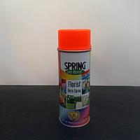 Краска для живых цветов в баллончике FLUOR ORANGE 205