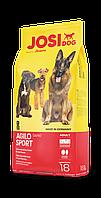 JosiDog AGILO SPORTS 18 кг - ЙозиДог Аджило Спорт - корм премиум класса для спортивных и активных собак