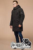 """Мужская зимняя куртка с капюшоном Braggart """"Arctic"""" (р. 44-56) арт. 23675М коричневый"""