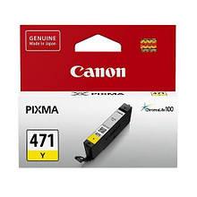 Картридж Canon для Pixma MG5740/MG6840 CLI-471Y Yellow (0403C001)