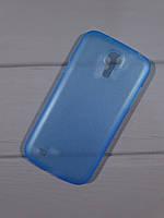 Чехол-накладка Perfektum UltraThin Samsung i9190 Galaxy S4 mini Mate Blue + screen