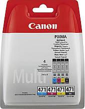 Картридж Canon для Pixma MG5740/MG6840 CLI-471 B/C/M/Y (0401C004) Multipack