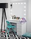 Гримерный стол, стол для макияжа, туалетный столик., фото 2