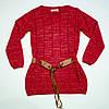 Вязаный свитерок для девочки на 11-12 лет